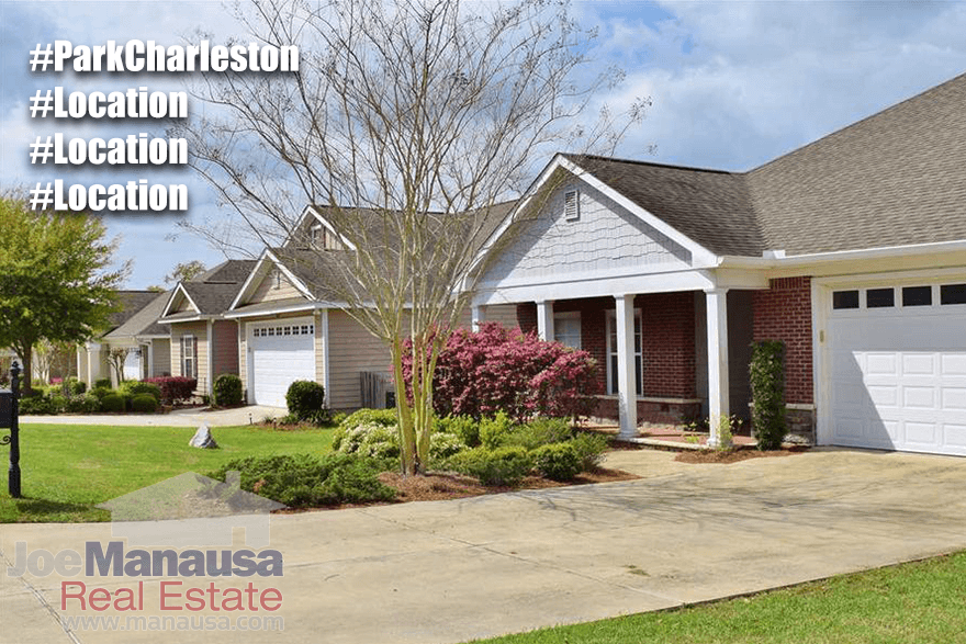 Park Charleston Listings & Housing Report October 2016