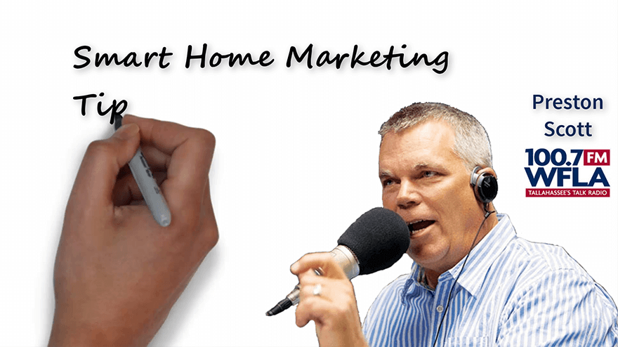 WFLA 100.7 Preston Scott explains why many home sellers are not using smart marketing ... and what they need to do differently