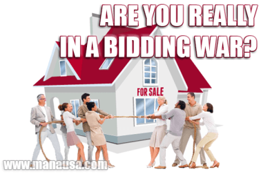 Hey Housebuyer, Are You Really In A Bidding War?