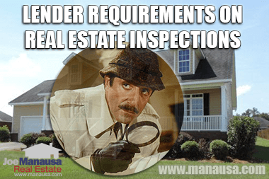 Lender Requirements On Real Estate Inspections