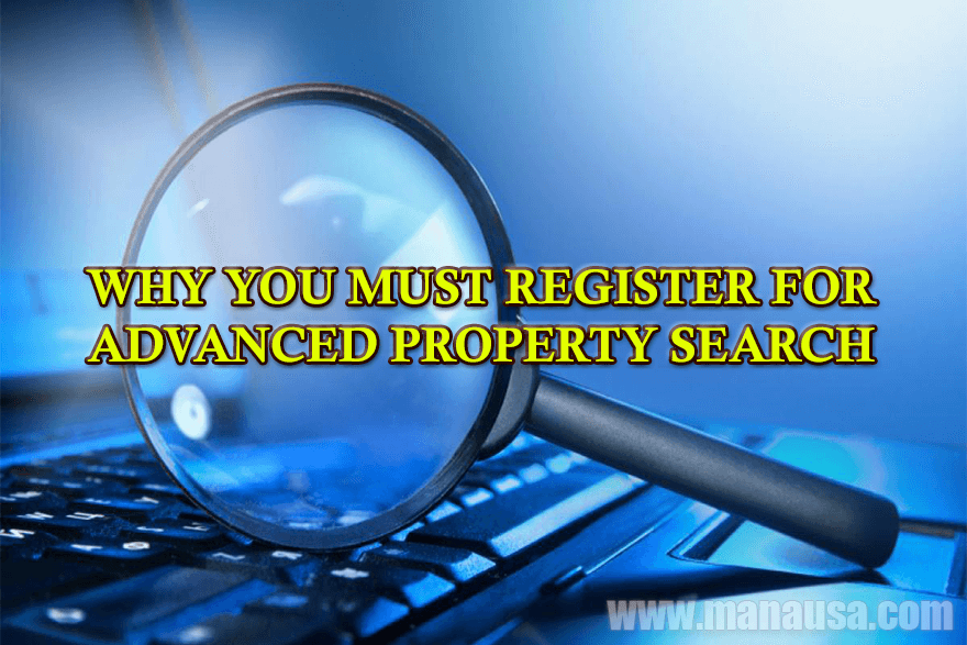2 reasons why you must register to use the best property search tools online