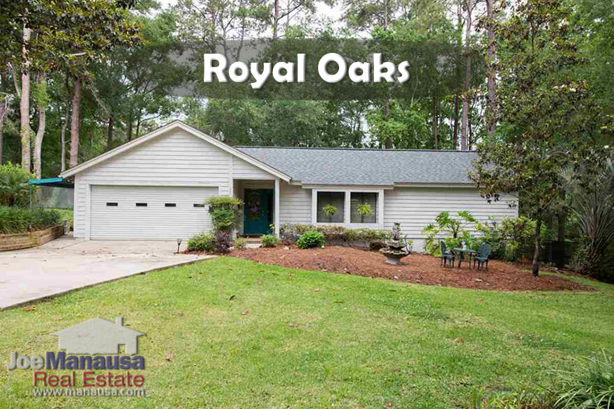 Average Home Prices In Royal Oaks Tallahassee, Florida
