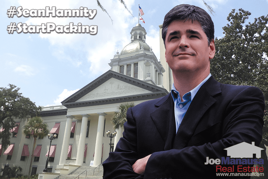 Sean Hannity Endorses Joe Manausa Real Estate Listing Agent Tallahassee Florida