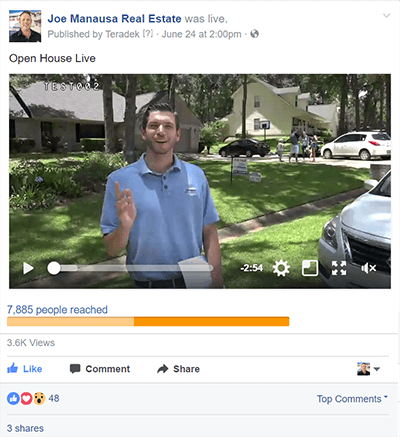 Open House On Facebook Live - Does This Help Sell A Home Fast?