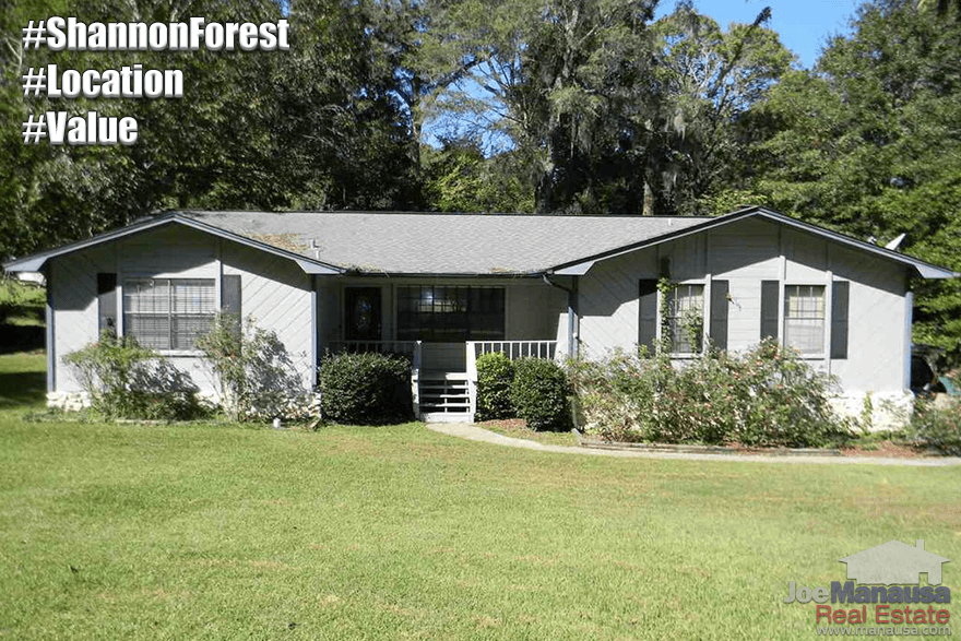 Homes For Sale In Shannon Forest Tallahassee, Florida 32309