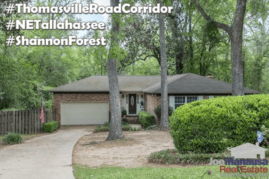 Homes For Sale In Shannon Forest Tallahassee, Florida
