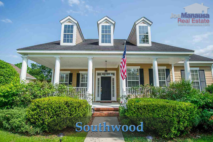 Southwood Tallahassee Home Prices