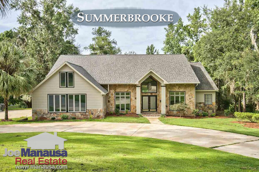 Tallahassee Summerbrooke Home Prices