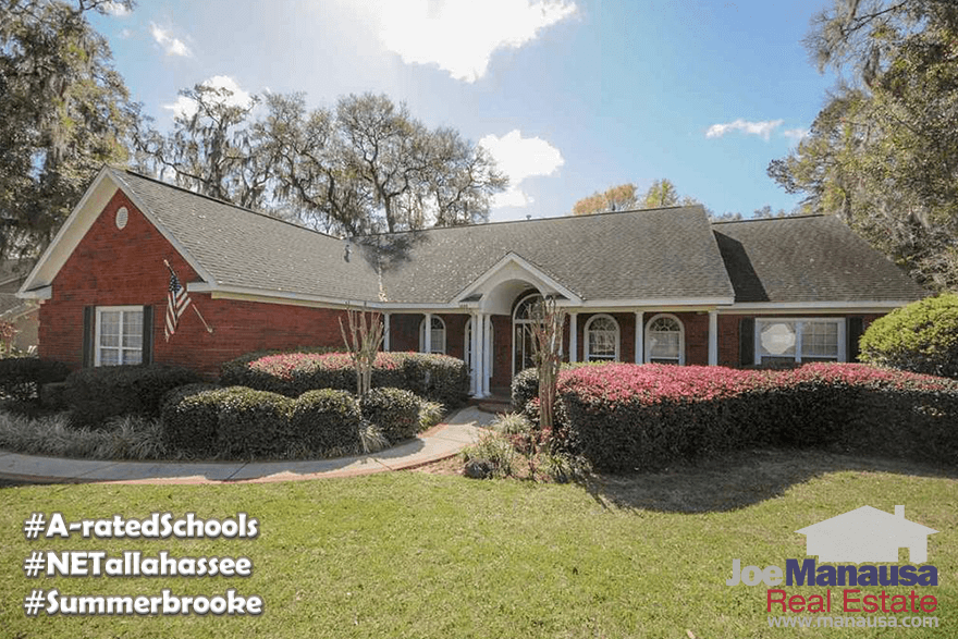 Homes for sale in Summerbrooke in NE Tallahassee, FL 32312
