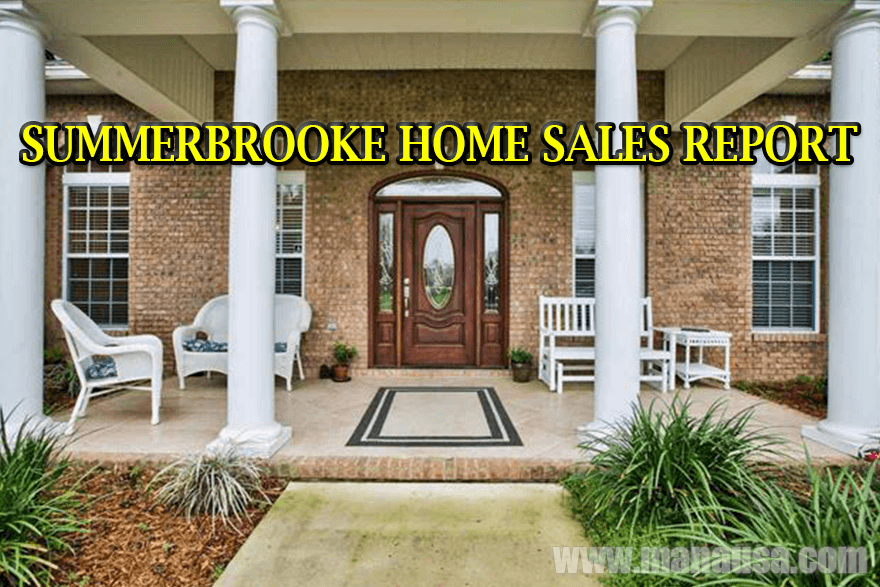 Home Sales In Summerbrooke Tallahassee Florida