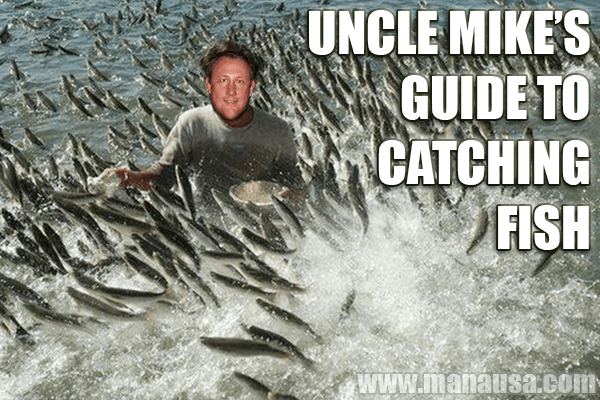 Selling a house is like shore fishing with Uncle Mike