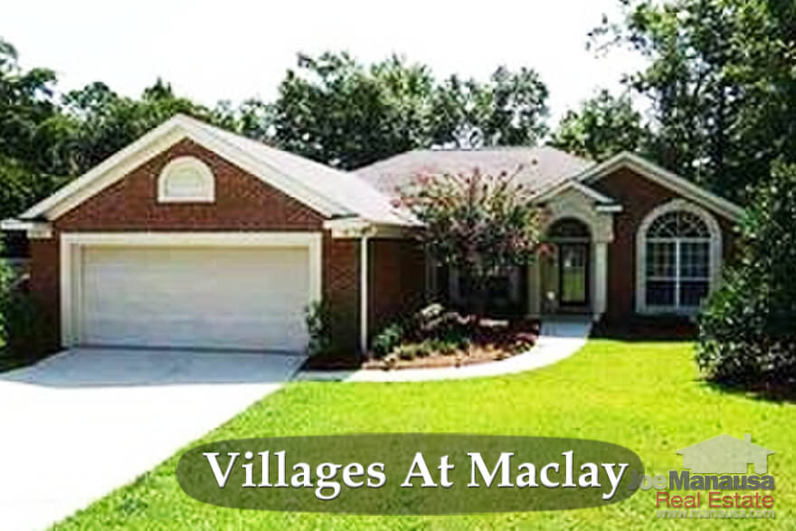 Villages at Maclay In Northeast Tallahassee, Florida