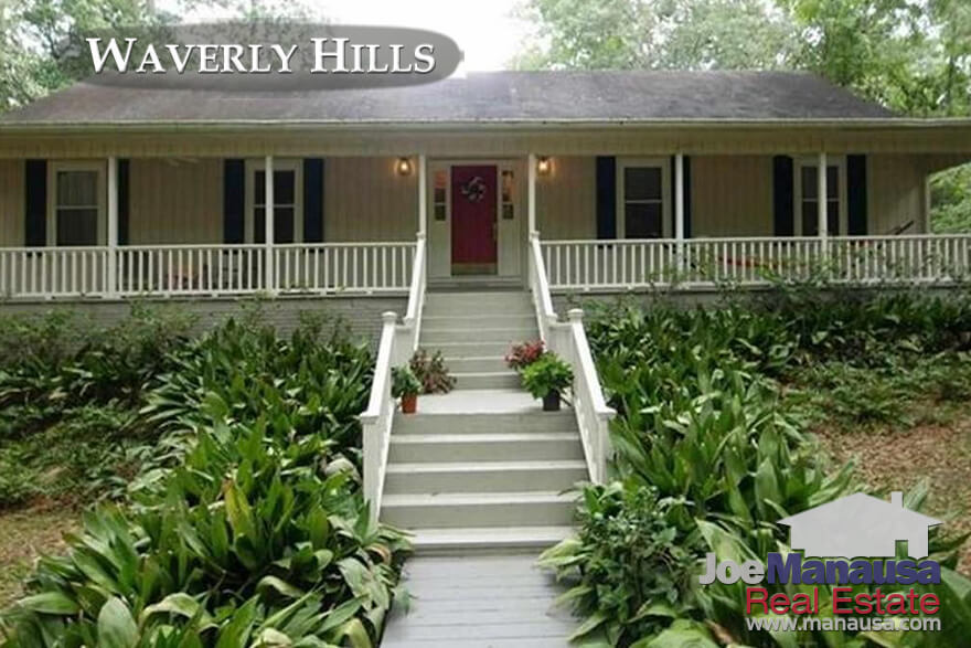 Waverly Hills Tallahassee Home Prices