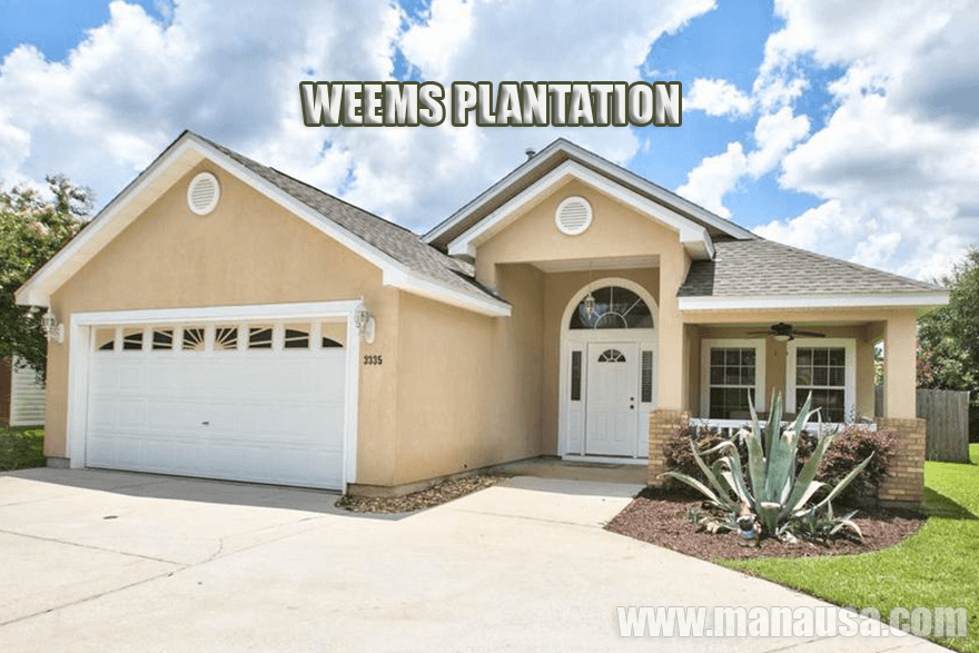 Weems Plantation Listings & Housing Report