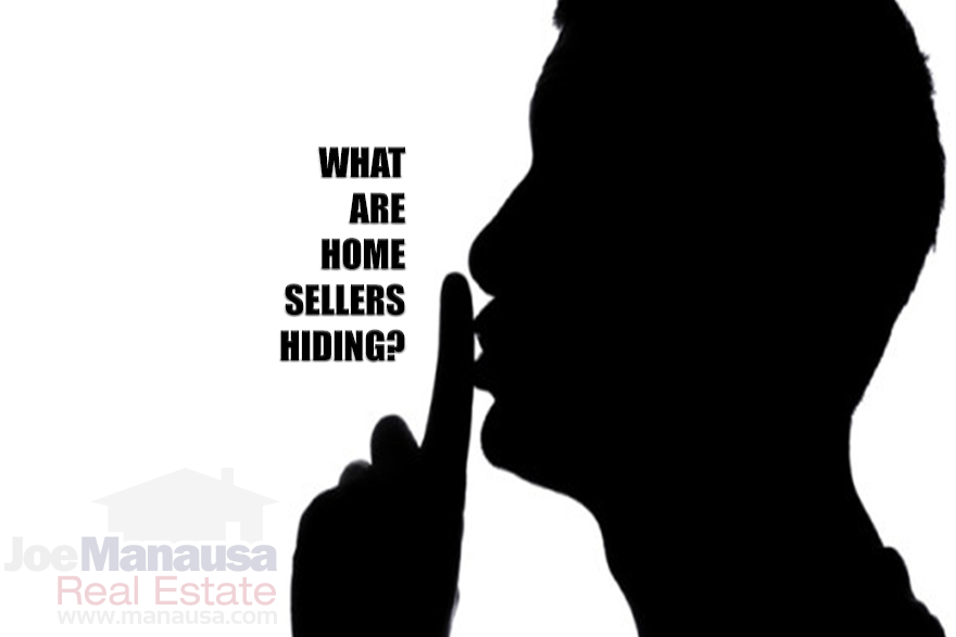 Home sellers are not disclosing known issues about their homes