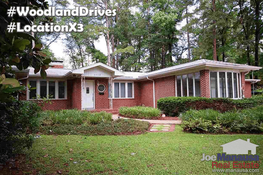 Homes For Sale In Woodland Drives Tallahassee, Florida