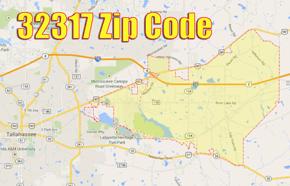32317 Zip Code Map