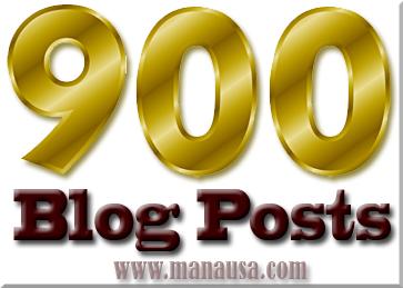 900 Blog Articles