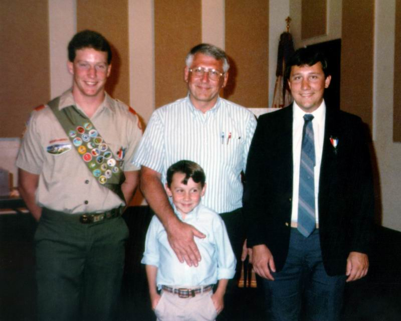 Picture of Tallahassee Eagle Scout Mike Manausa