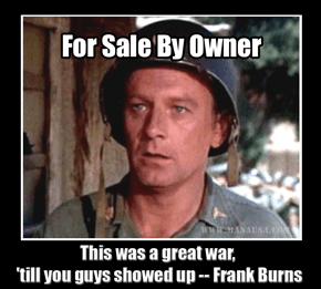 Frank Burns   For Sale By Owner