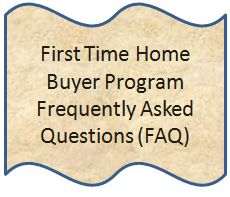 Frequently asked questions about the first time homebuyer tax credit