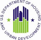 Logo for US Department of Housing and Urban Development (HUD Logo)