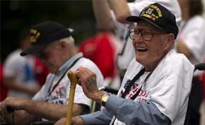 Honor Flight Tallahassee Veteran
