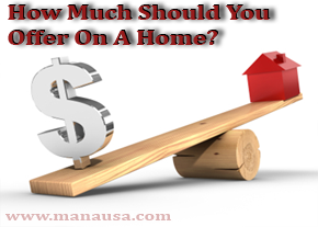 How Much To Offer On A Home