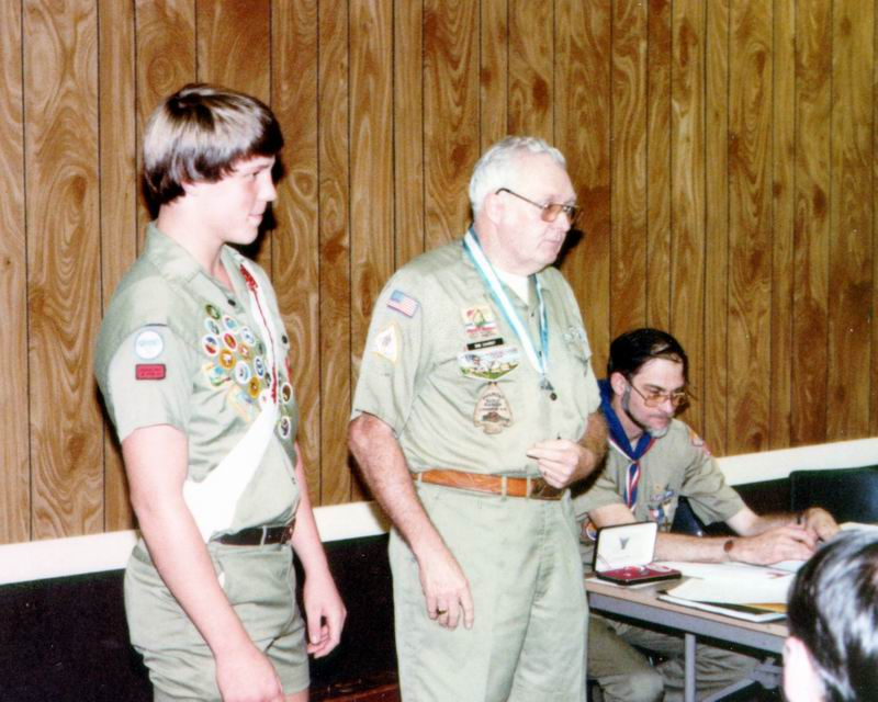 Picture of Tallahassee Eagle Scout Joe Manausa