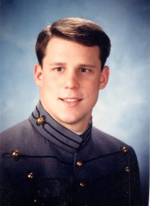 Picture of West Point Cadet Joe Manausa in 1986