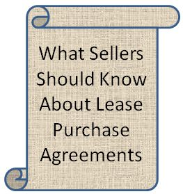 Lease Purchase Agreements In Tallahassee