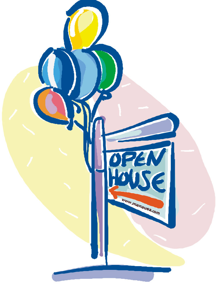 Picture Of Open House Sign