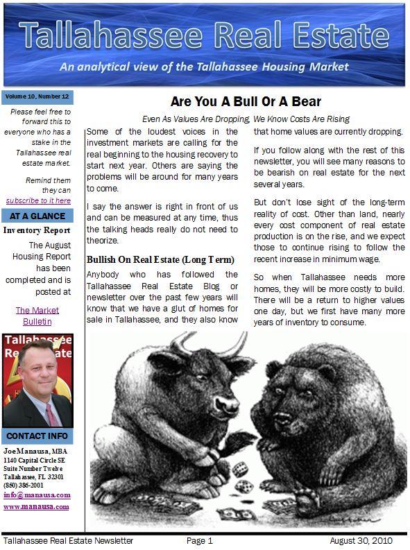 Real Estate Bulls and Bears