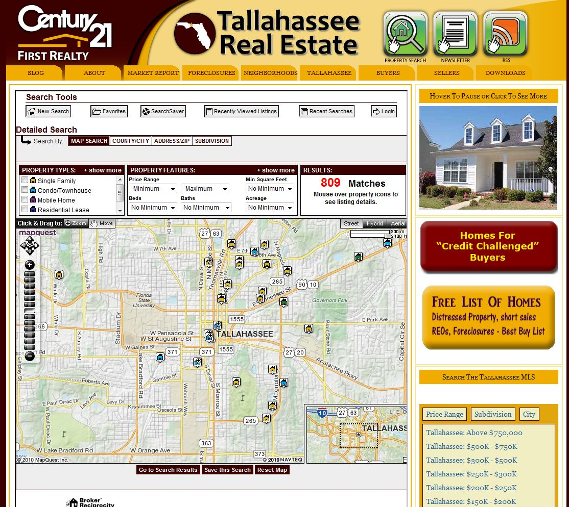 Real Estate Search Tool Better Than craigslist