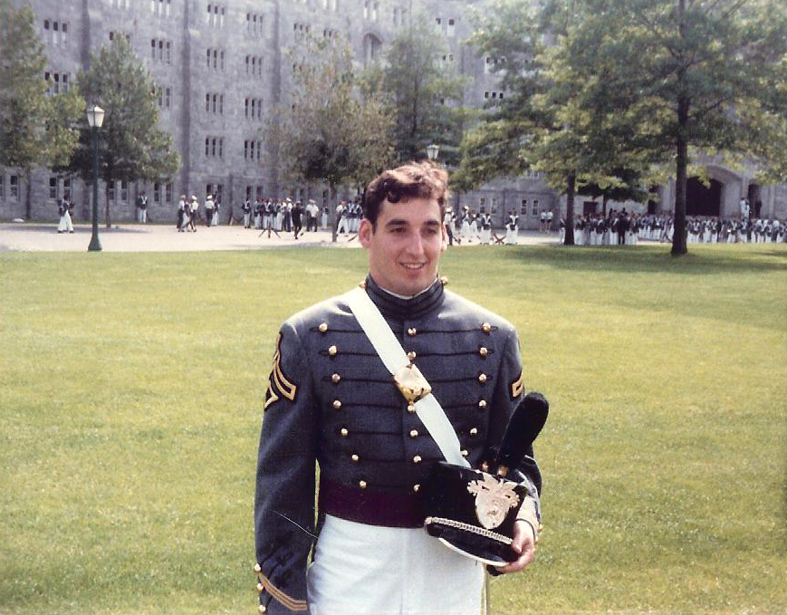 Ron Rice At West Point Graduation