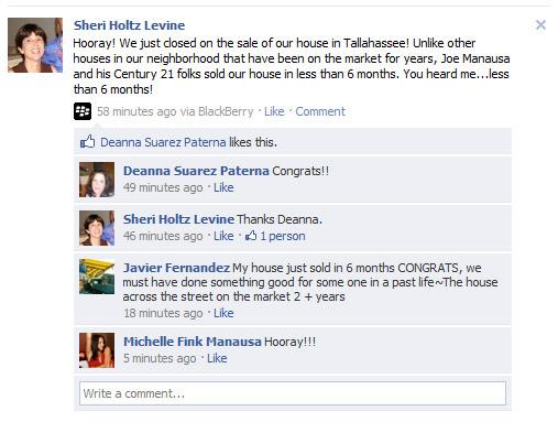 Sheri-Levine-Testimonial Facebook