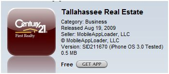 Tallahassee Real Estate App