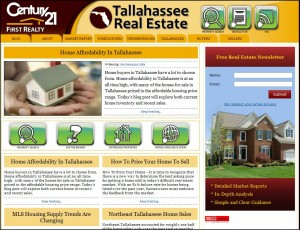 Tallahassee Real Estate Blog Is Updated
