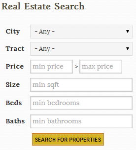 Tallahassee Real Estate Property Search Tool