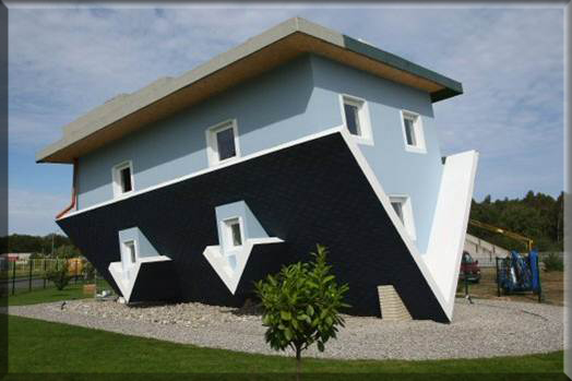 Upside Down Home Plan Image
