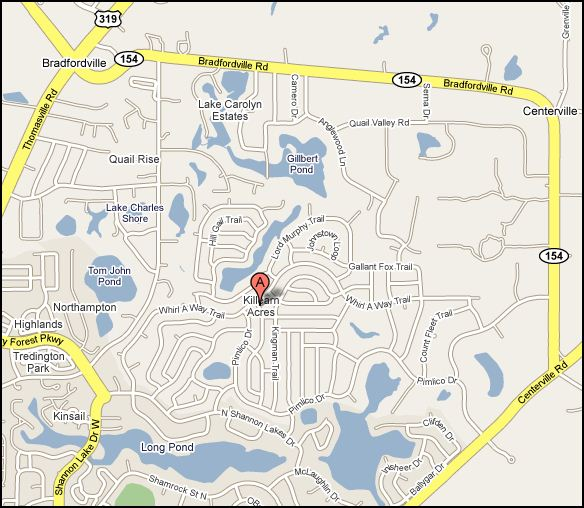 killearn-acres-map-tallahassee-florida