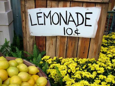 real estate and lemonade