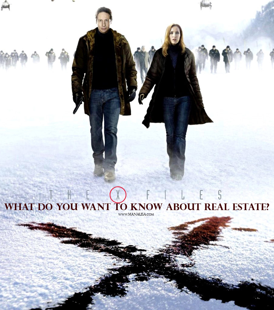 Picture of real estate x files